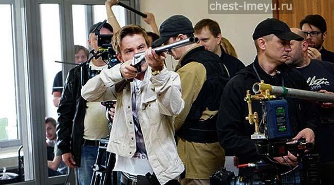 Съемки сериала Полицейский с Рублёвки