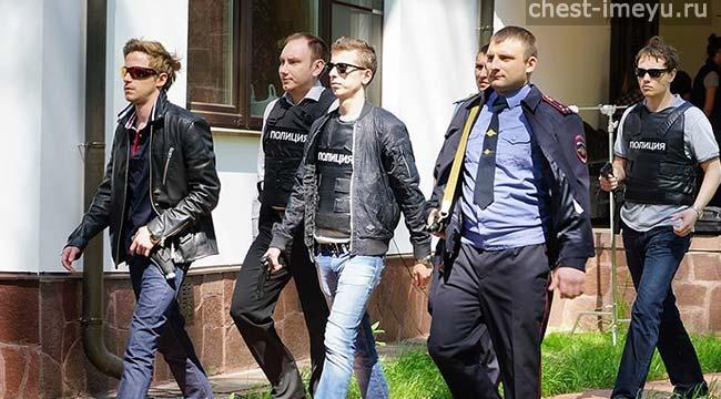 Фото со съемок Полицейского с Рублёвки